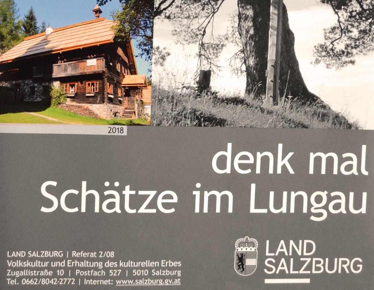 Denkmal Schätze Lungau Mesnerhaus Weißpriach