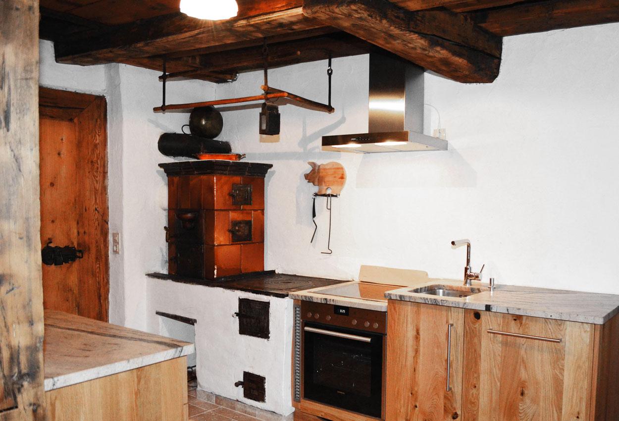 Küche Ferienhaus Lungau