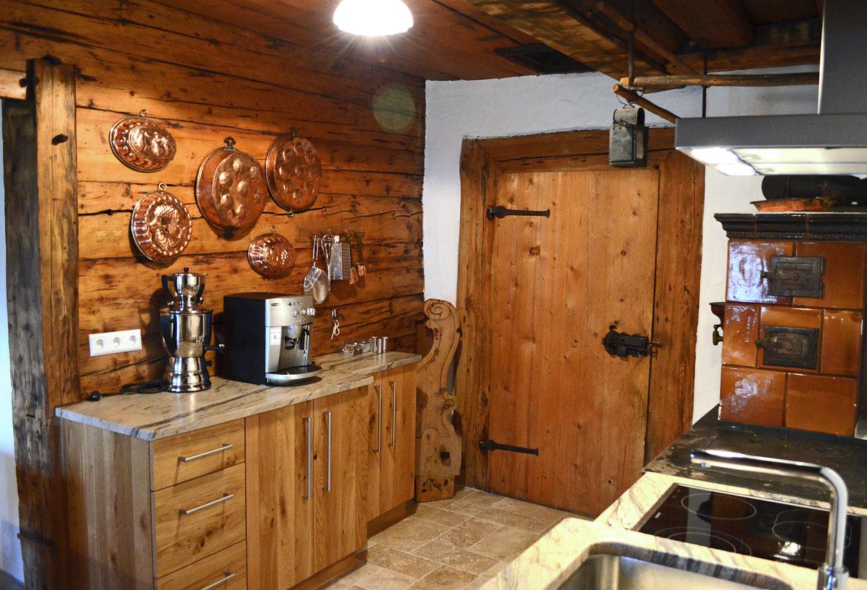 Küche Ferienwohnung Lungau