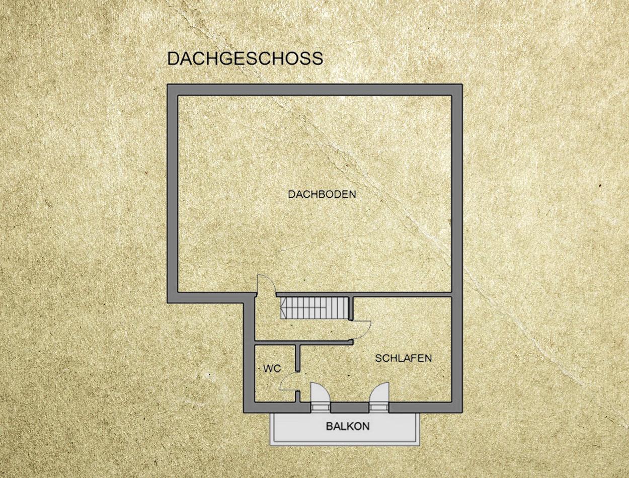 Plan Ferienhaus Dachgeschoss