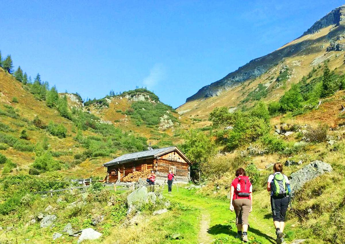 Sommer Wandern Urlaub Lungau