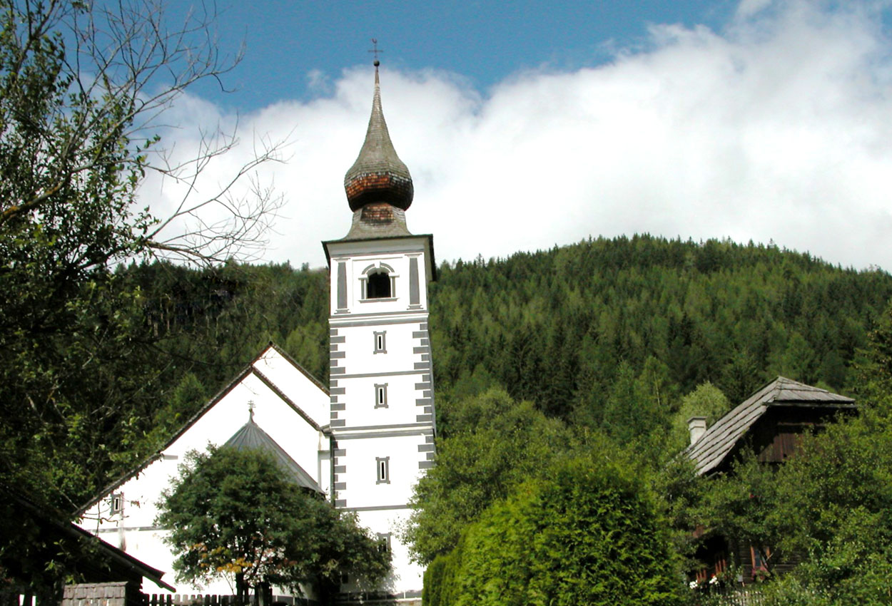 Kirche St. Rupert Weißpriach